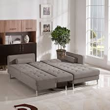 Modern Sofa Bed Sectional Divani Casa Smith Modern Brown Fabric Sectional Sofa Sofa Beds