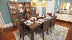 trendy dining room table and chairs sets with lighting idea and