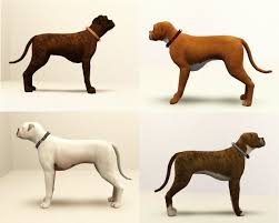 boxer dog for adoption mod the sims bountiful boxers 4 very different dogs up for adoption