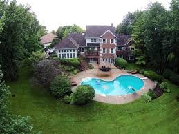 Backyard Pool And Basketball Court Illinois Wow House Roundup Private Beach Indoor Sports Court