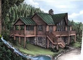 log cabin house plan id chp 26050 coolhouseplans com bigger