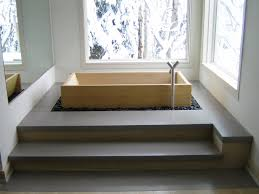 japanese wood bath in western room wasou traditional japanese