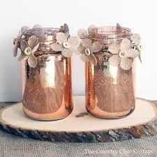 jar centerpiece copper jar centerpiece the country chic cottage