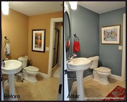 powder room makeovers love that blue grey color and i love how