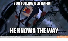 Rafiki Meme - 25 best memes about correction i know your father correction i