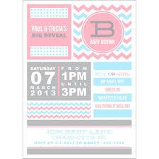 Templates For Invitation Cards Cool Design For Gender Reveal Invitation Templates Nicoevo Info