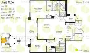 asia condo brickell key floor plans
