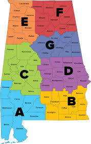 Alabama Time Zone Map by State Of Alabama Law Enforcement Agency