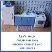 miniature dollhouse kitchen furniture dollhouse miniature furniture tutorials 1 inch minis how to