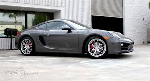 porsche cayman silver 2014 cayman with wheel dynamics 808 series wheels photos hyper