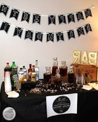 30th birthday decorations planning a s birthday party whiskey tasting manly theme