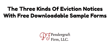 eviction notice form free downloadable samples 3 kinds of eviction