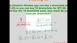 number sense ratios and rates 7th grade math youtube