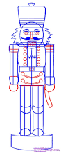 how to draw a nutcracker step 5 drawing techniques pinterest