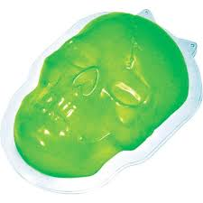 amazon com skull halloween gelatin mold toys u0026 games