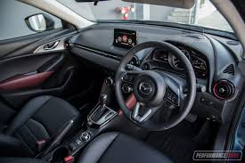 mazda cx3 interior 2017 mazda cx 3 stouring awd review video performancedrive