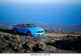 sky blue mustang blue ford mustang car stock photos blue ford mustang car stock