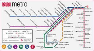 san jose light rail map plan du métro de san francisco sf pinterest san francisco