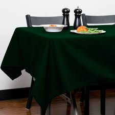 forest green table linens 54 x 120 forest green hemmed polyspun cloth table cover
