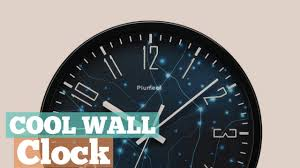 coolest clocks cool wall clock best sellers 2017 youtube