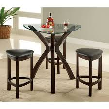 shop furniture of america xanti espresso dining set with