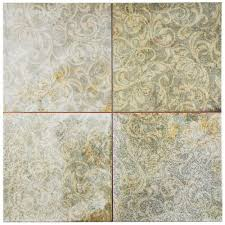 Floor And Decor Houston Merola Tile Attica Gris 17 3 4 In X 17 3 4 In Ceramic Floor And