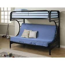 Bunk Bed With Mattress Bedding Dorel Futon Bunk Bed With Mattresses Black