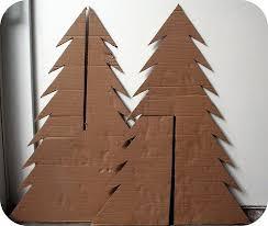 cardboard christmas tree best 25 cardboard christmas tree ideas on