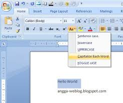 design von powerpoint in word shortcut key for lowercase uppercase and first letter to capital