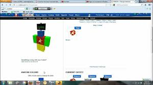how to change how your roblox character looks youtube