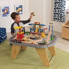 kidkraft metropolis train and table set