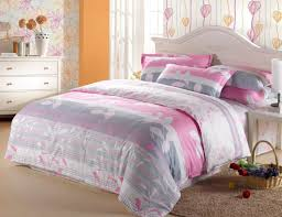 Girls Bright Bedding by Bedding Set Pink And Grey Girls Bedding Wow Childrens Bed Linen