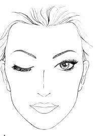 makeup artist sketchbook faces to use for croquis fashion design sketchbooks make up