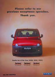 fiat multipla top gear portfolio amanda wallace writer