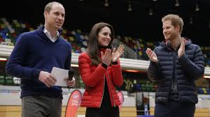 royals on the run william kate and harry race for heads together