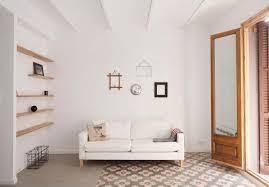 warm home interiors apartment refurbishment in la barceloneta into a luminous and warm