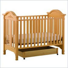 stork craft angelina 3 in 1 convertible wood crib in natural