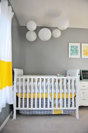 Gray And Yellow Nursery Decor Baby Nursery Heavenly Baby Nursery Room Decoration With