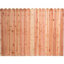 Decorative Fence Panels Home Depot by 6 Ft H X 8 Ft W Pressure Treated Pine Dog Ear Fence Panel 158083