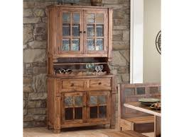 Sunny Design Furniture Sunny Designs Sedona Rustic Oak China Buffet U0026 Hutch Conlin U0027s
