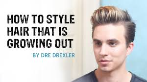 Which Hairstyle Suits Me Men by How To Style Hair Growing Out Ditching The Undercut Men U0027s