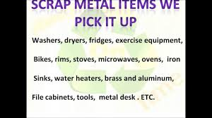 scrap metal filing cabinet free scrap metal and appliances pickup all over costa mesa ca