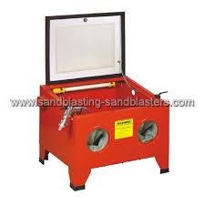 Used Blast Cabinet How Does A Sandblaster Work Sandblasters Sand Blasting Equipments