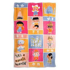 throw blanket it s a small world fleece