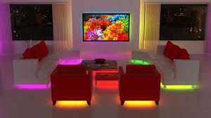 color furniture lit color changing led tubes to hide under furniture freshome com