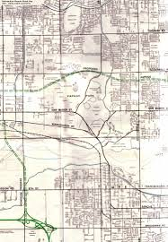 Az City Map Maps Of Papago Park In Phoenix Arizona