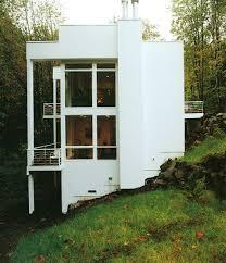 homes built into hillside modern house built into hillside with multi level balconies
