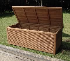 Garden Storage Bench Uk A Grade Teak 65