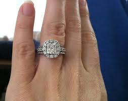 2 carat cushion cut engagement ring ring beautiful 2 carat cushion cut ring my gorgeous