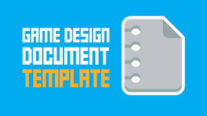 game design template game design document template one page super easy youtube